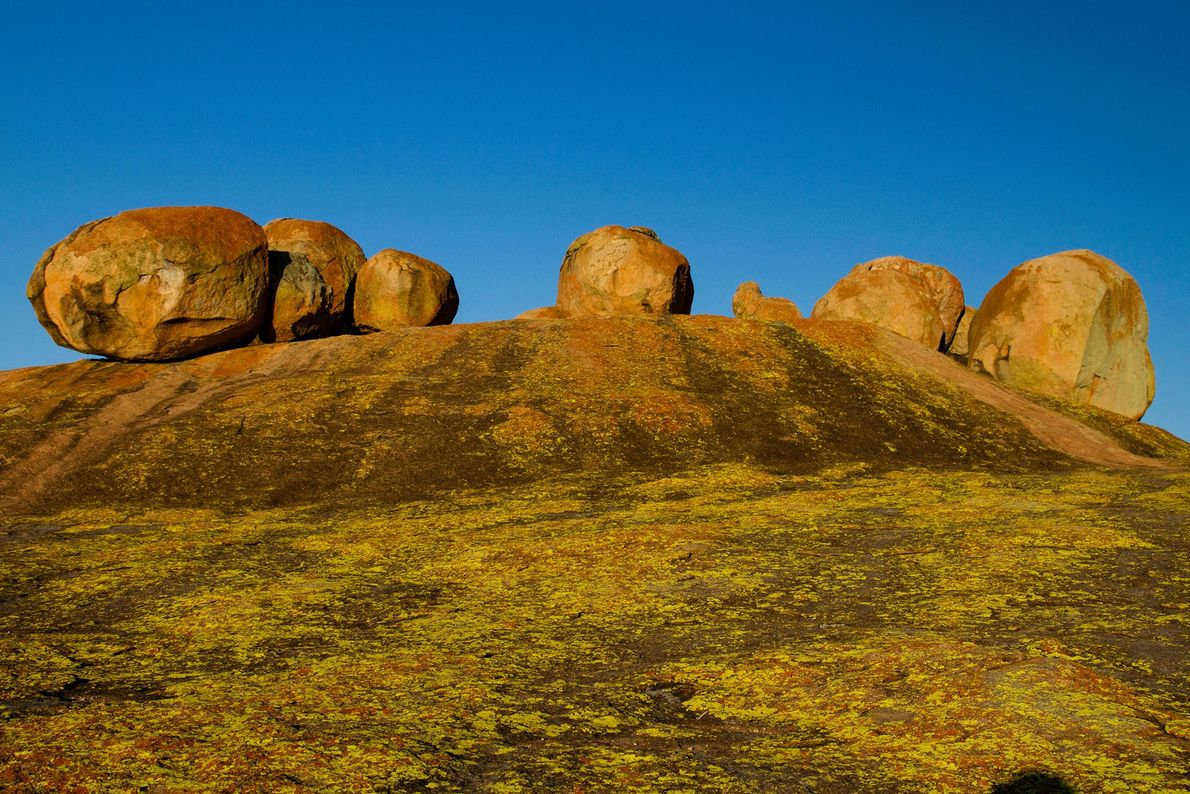 Paisaje cultural de las colinas de Matobo