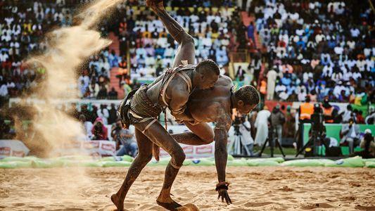 La lucha senegalesa