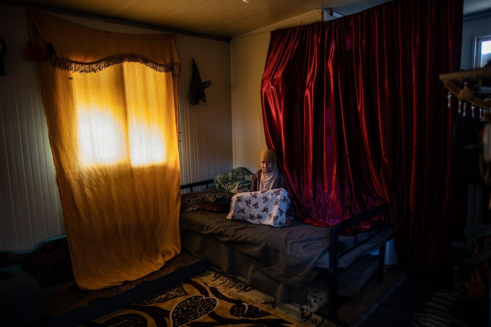 Fotografía de la refugiada siria Zahra