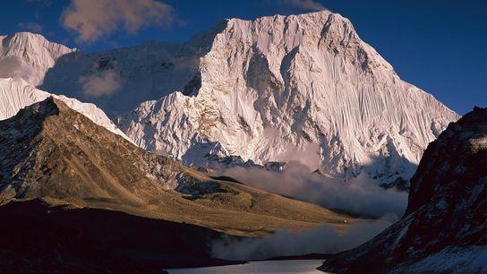 La montaña de Chamlang