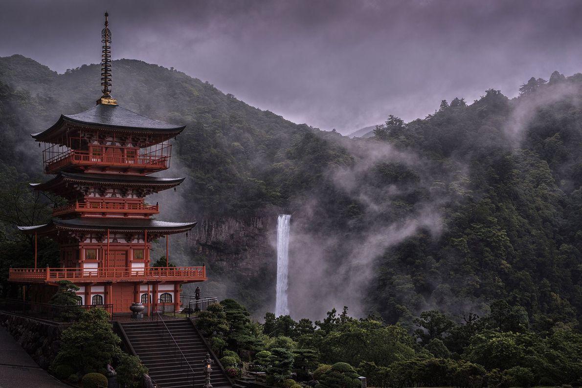 Cascada Nachi, Japón