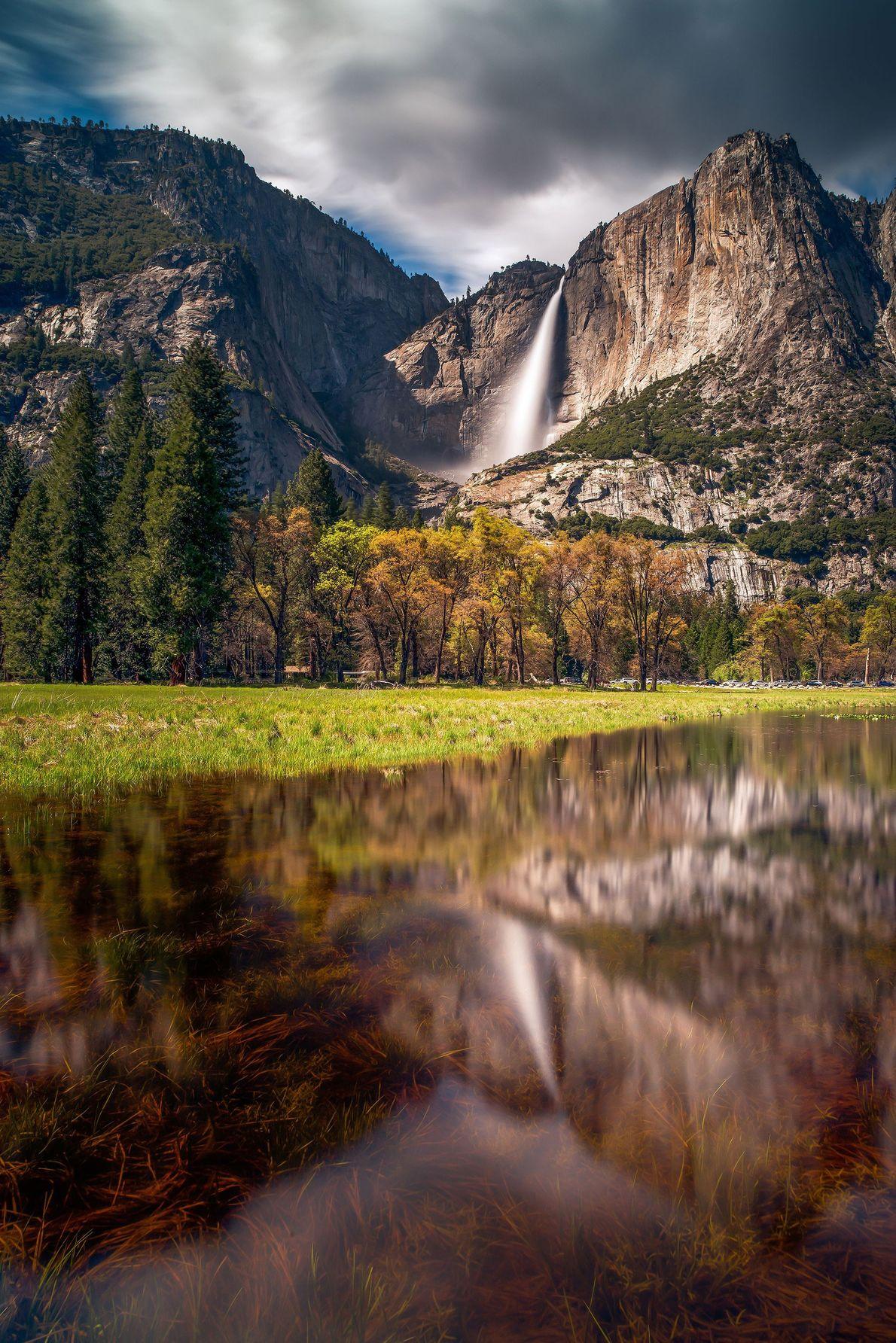 Salto Yosemite, California