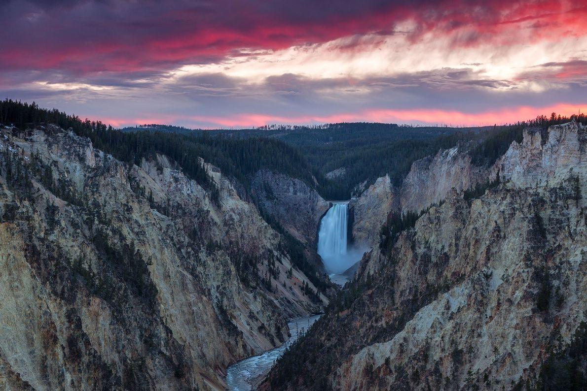 Cataratas Lower Yellowstone, Wyoming
