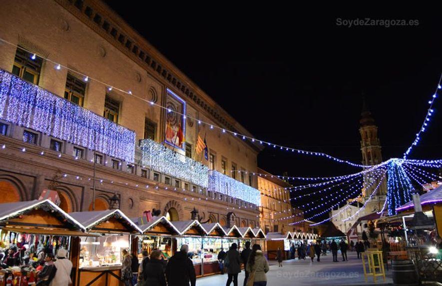 Alumbrado navideño en Zaragoza